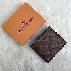 Louis Vuitton Multiple Damier Ebene Vejital Deri Erkek Cüzdanı