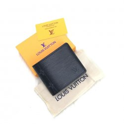 Louis Vuitton Multiple Epi Hakiki Deri Erkek Cüzdanı